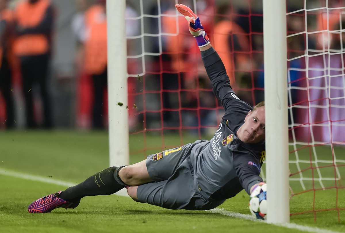 Ter Stegen supera su récord de imbatibilidad con el empate en Sevilla en esta temporada