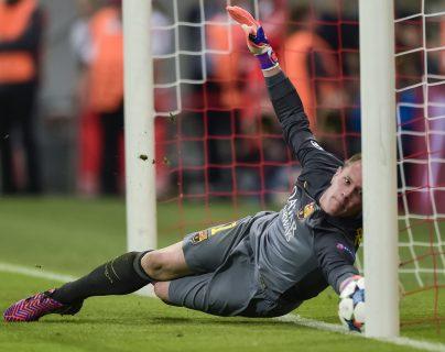 El portero alemán superó el récord de imbatibilidad en esta temporada. Foto Prensa Libre: AFP
