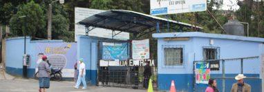 Confirman 11 casos de covid-19 en el Hospital Departamental de Sololá. (Foto Prensa Libre; Orlando de León)
