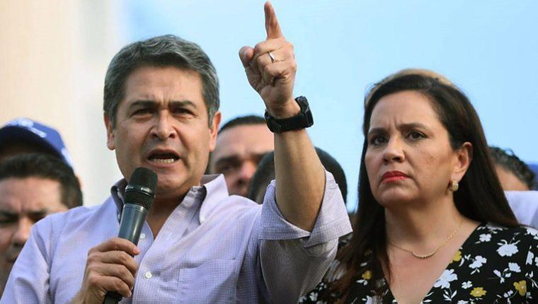 El presidente Juan Orlando Hernández será tratado en el Hospital Militar. (Foto: AFP)