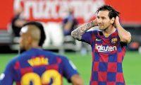 Lionel Messi lidera la tabla de goleadores de la Liga española. (Foto Prensa Libre: Hemeroteca PL)