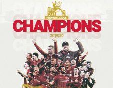 El Liverpool se consagró campeón de la Premier League. (Foto Prensa Libre: Twitter Liverpool FC)