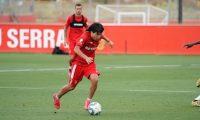 Luka Romero nació en México y es jugador del Mallorca. (Foto Prensa Libre: Twitter @lukaromero_)