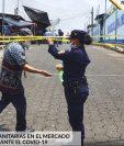 La Municipalidad de Malacatán, San Marcos, solicitó al Ministerio de Salud dejar sin efecto el cordón sanitario. (Foto Prensa Libre: Municipalidad de Malacatán San Marcos)