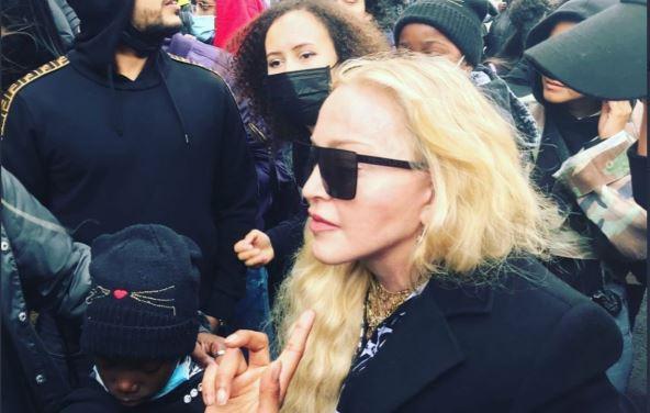 Madonna y Banksy se unen a las protestas antirracismo en el Reino Unido