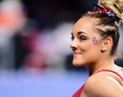 Maggie Nichols, gimnasta de Estados Unidos que protagoniza el documental de Netflix, Atleta A. (Foto Prensa Libre: Instagram @callmeswags)