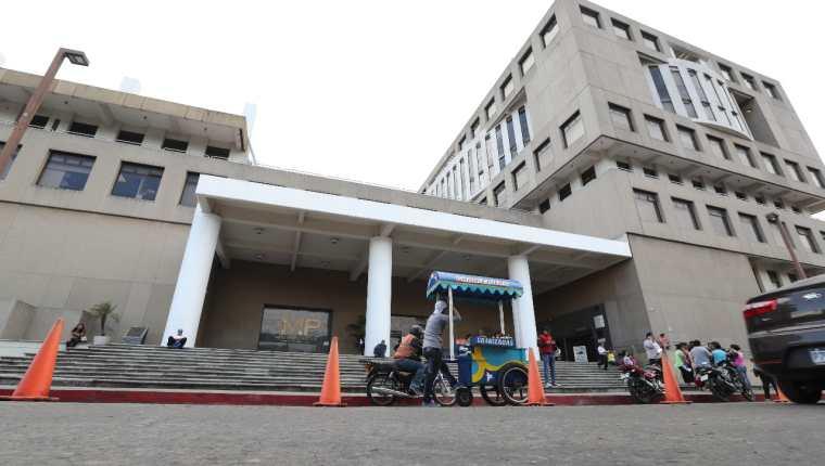 Edificio del Ministerio Público (MP) en la capital de Guatemala.  (Foto Prensa Libre: Hemeroteca)