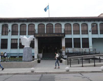 La Corte de Constitucionalidad reitera que puede haber persecución contra magistrados por sus resoluciones. (Foto Prensa Libre: Hemeroteca PL)