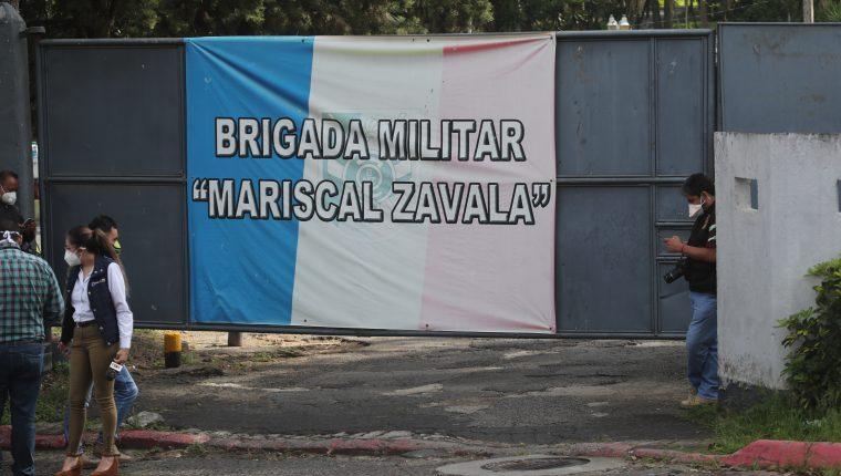 La cárcel está instalada dentro de la base militar Mariscal Zavala. (Foto Prensa Libre: Hemeroteca PL)