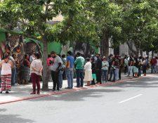 El Ministerio Público recibió hasta el martes 17 de junio 308 denuncias por hurto y coacciones de los beneficiados por el Bono Familia. (Foto Prensa Libre: Hemeroteca)