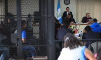 Continœan las declaraciones durante el juicio del caso Negocio de familia en el que est‡ involucrado el exalcalde de Chinautla Arnoldo Medrano.  Foto Carlos Hern‡ndez  18/12/2019