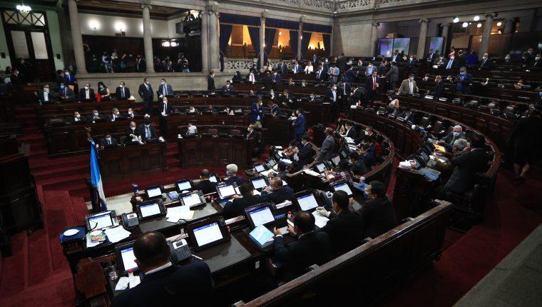 Los diputados podrían reunirse para elegir a magistrados de las cortes. (Foto Prensa Libre: Hemeroteca PL)