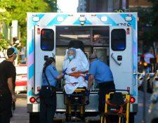 Estados Unidos tiene el mayor número de casos de guatemaltecos contagiados de coronavirus en el extranjero. (Foto Prensa Libre: EFE)