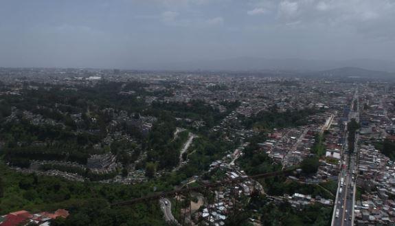 Fotos: así ha sido la bruma que el polvo del Sahara ha dejado en distintos puntos de Guatemala