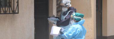 El Área de Salud afirma que en Quetzaltenango no hay hospitales o laboratorios autorizados para llevar a cabo pruebas de covid-19. (Foto Prensa Libre: María Longo)