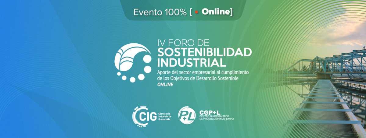 Cámara de Industria de Guatemala realizará primer foro sostenible en línea