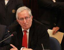 Oliverio García Rodas nuevo ministro de Gobernación. (Foto Prensa Libre: Hemeroteca PL)