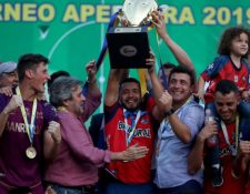 Municipal comenzará la defensa de su título frente a Iztapa. El clásico lo jugará en la fecha 11. (Foto Prensa Libre: Hemeroteca PL)
