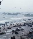 Esta es una toma de la película El soldado Ryan.  Foto tomada del trailer oficial en Youtube