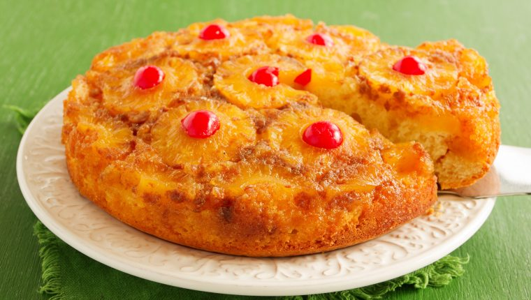 El volteado de piña es un pastel que usted misma puede preparar. Foto Prensa Libre: ShutterStock