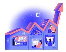 Muchas empresas afirman que sus empleados son muy eficientes cuando trabajan desde casa, pero existen costos emocionales y sociales por trabajar en aislamiento. (Yann Bastard/The New York Times)