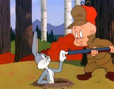 Elmer Gruñón ya no utilizará su escopeta para perseguir a Bugs Bunny en las nuevas aventuras de los Looney Tunes. (Foto Prensa Libre: Warner Bros)
