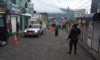 Tres municipios de Sololá estuvieron bajo estado de Sitio por ingobernabilidad. Foto Prensa Libre: PNC