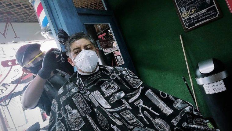 Mister Barber Shop tiene 17 sucursales en Guatemala, y en un webinar compartirán su expansión. (Foto Prensa Libre: Cortesía)