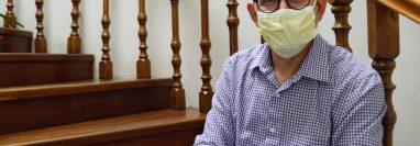 El epidemiólogo Edwin Asturias retornó a Guatemala para dirigir la Coprecovid. (Foto Prensa Libre: María Reneé del Pilar Barrientos)