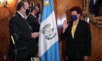 Amelia Flores fue viceministra de Salud en el gobierno de Óscar Berger. Fotografía: Presidencia.