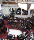 Diputados podrian sesional el miércoles para tratar de aprobar el estado de Calamidad Pública (Foto Prensa Libre: Hemeroteca PL)