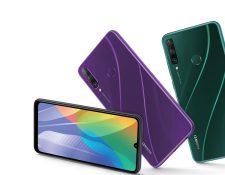 Huawei presentó los nuevos modelos de celulares Y6P y Y5p. Foto Prensa Libre: Cortesía