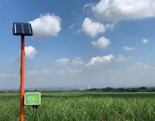 Empresa busca crear una red nacional de pluviómetros conectados con el objetivo de generar redes de monitoreo de precipitación pluvial. (Foto Prensa Libre: Cortesía Juan Manuel Valle, Siucom, S.A/ ioroots)