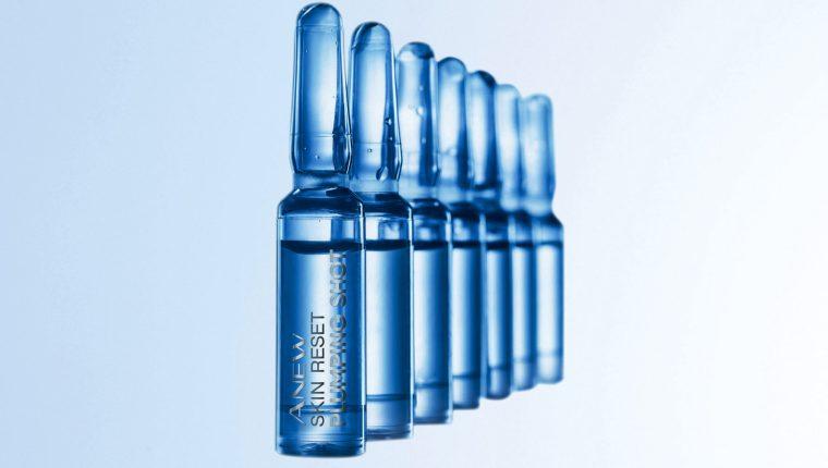 El nuevo producto de Avon rejuvenece la piel dañada por la falta de colágeno. Foto Prensa Libre: Cortesía