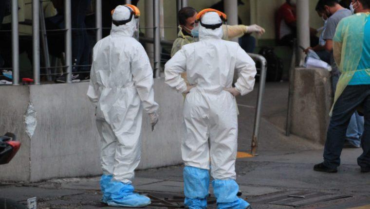 El Ministerio de Salud efectúa una revisión de las cifras en hospitales privados por atención a pacientes con coronavirus. (Foto Prensa Libre: Hemeroteca PL)