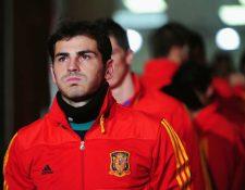 Iker Casillas recordó el momento cuando ingresó a la cancha para enfrentar a Honduras en el 2010. Foto Iker Casillas.