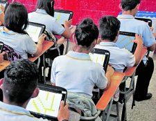 Los colegios darán una semana de vacaciones a estudiantes y maestros. (Foto Prensa Libre: Hemeroteca PL)
