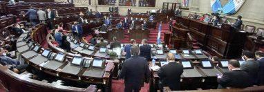 La novena legislatura está integrada por 19 bloques políticos. (Foto Prensa Libre: Organismo Legislativo)
