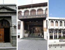 Antejuicios y elección de magistrados crea crisis en tres órganos del Estado. (Foto Prensa Libre: Hemeroteca PL)