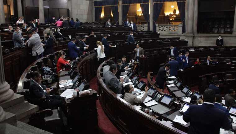El Congreso hasta ahora no ha logrado acuerdos para elegir las nuevas cortes, aunque sí decidieron que la elección será a viva voz, uno por uno. (Foto Prensa Libre: Hemeroteca PL)