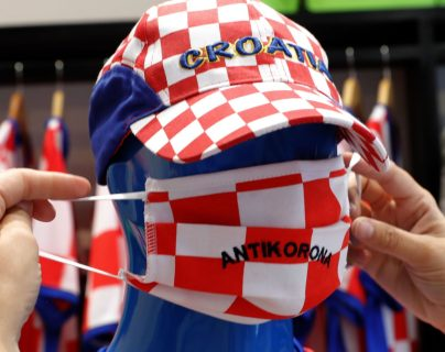 Croacia registra nuevos casos de covid-19 y se alarma la población. (Foto  Prensa Libre: EFE)