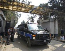 Reos contagiados con coronavirus son trasladados a la cárcel Fraijanes 2 para su tratamiento. (Foto Prensa Libre: Hemeroteca PL)