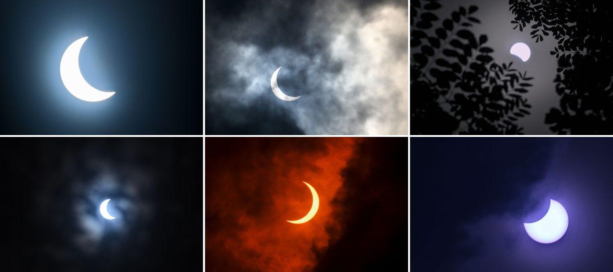 El eclipse que formó el círculo de fuego durante la pandemia