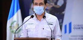 El ministro de Salud, Hugo Monrroy, en conferencia confirmó que hay 509 casos nuevos de coronavirus en Guatemala. (Foto Prensa Libre: Hemeroteca PL)