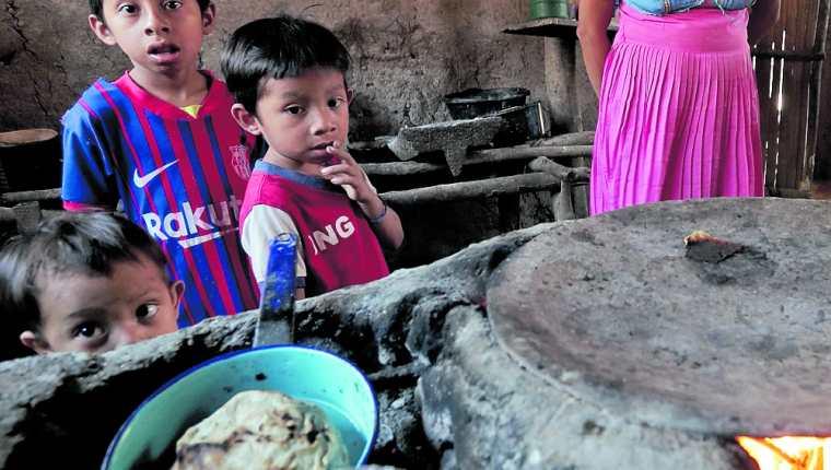 La desnutrición aguda golpea principalmente a las familias de las áreas rurales del país. (Foto Prensa Libre: Hemeroteca PL)