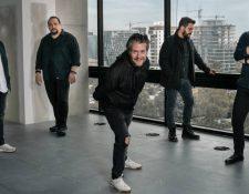 """La banda guatemalteca Fábulas Áticas promociona """"Humanos"""", su nuevo material discográfico. (Foto Prensa Libre: Cortesía Diego Díaz Durán)"""