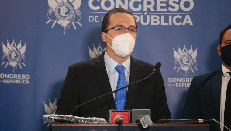 Felipe Alejos, diputado de la bancada Todos. (Foto Prensa Libre: Hemeroteca PL)