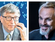 Miguel Bosé arremete ahora contra Bill Gates. (Foto Prensa Libre: EFE)