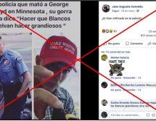 Captura de pantalla de publicación en Facebook realizada el 1 de junio de 2020.