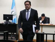 La investigación del MP señala que Gustavo Alejos busca incidir en la elección de los próximos magistrados del OJ. (Foto Prensa Libre: Hemeroteca PL)